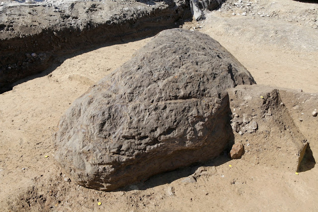 Prehistoric standing stone discovered in Switzerland