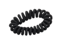 Revlon Essential Coil Elastics  Experience the freedom of letting your hair  down from a ponytail-crease free! The soft fabric reduces hair damage while  also ... 9102fdfca3e