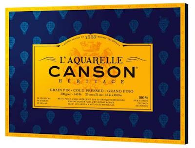 Papel Canson Heritage de Grano Fino