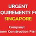 Apply for Latest Jobs in Daesonn Construction Pte Ltd | Singapore
