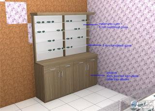 Desain Interior Untuk Toko Kacamata - Desain Interior Semarang