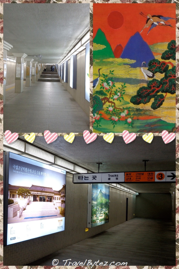 Gyeongbokgung Palace Station (Seoul Subway Line 3)