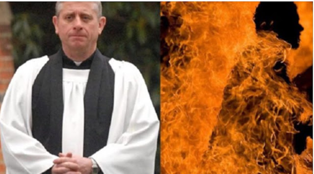 Pedophile Priest Doused in Gasoline and Sets Himself on Fire When Caught Raping Children