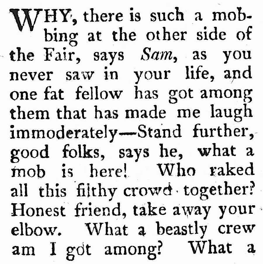 an 1816 insult comic