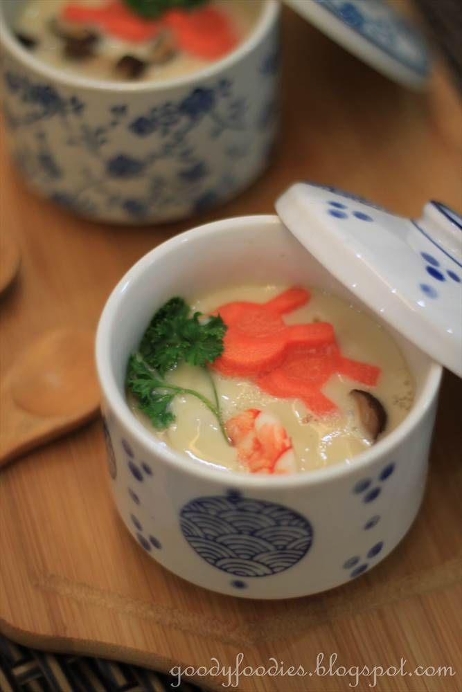 Goodyfoodies Recipe Japanese Chawanmushi With Prawn