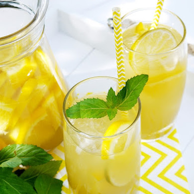 Skinny Citrus Green Iced Tea Recipe