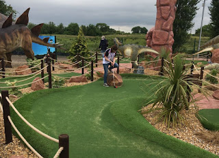 Adventure Golf course at Bents Garden and Home