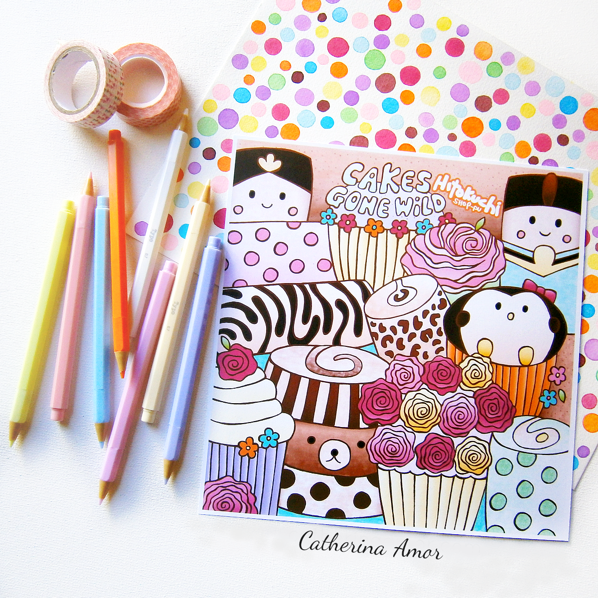 Kawaii Cakes by Catherina Amor