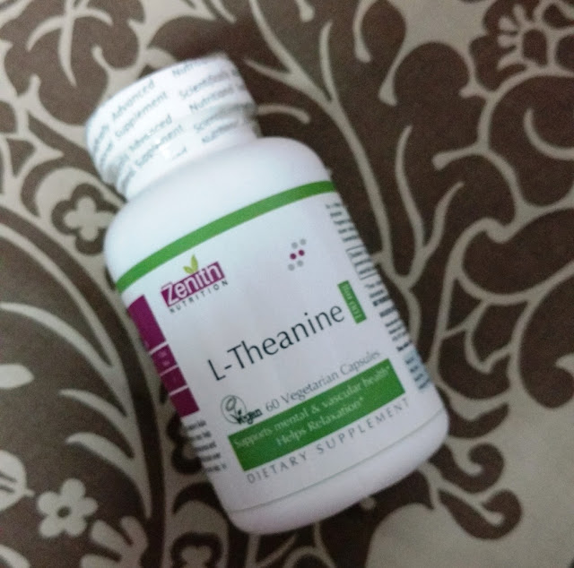 Zenith Nutrition L-Tyrosine 500mg - 60 Veg Capsules Review