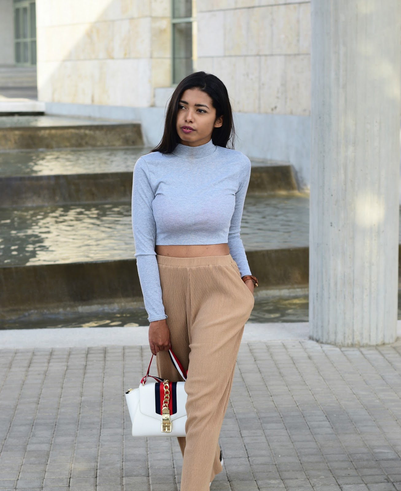 Cropped Sleeve Top outfit ideas for fall