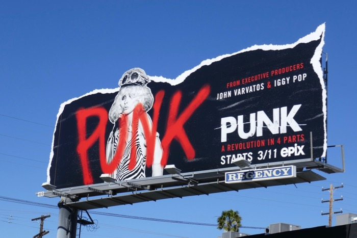 Punk series premiere billboard