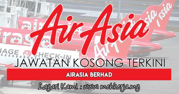 Jawatan Kosong Terkini 2017 di AirAsia Berhad