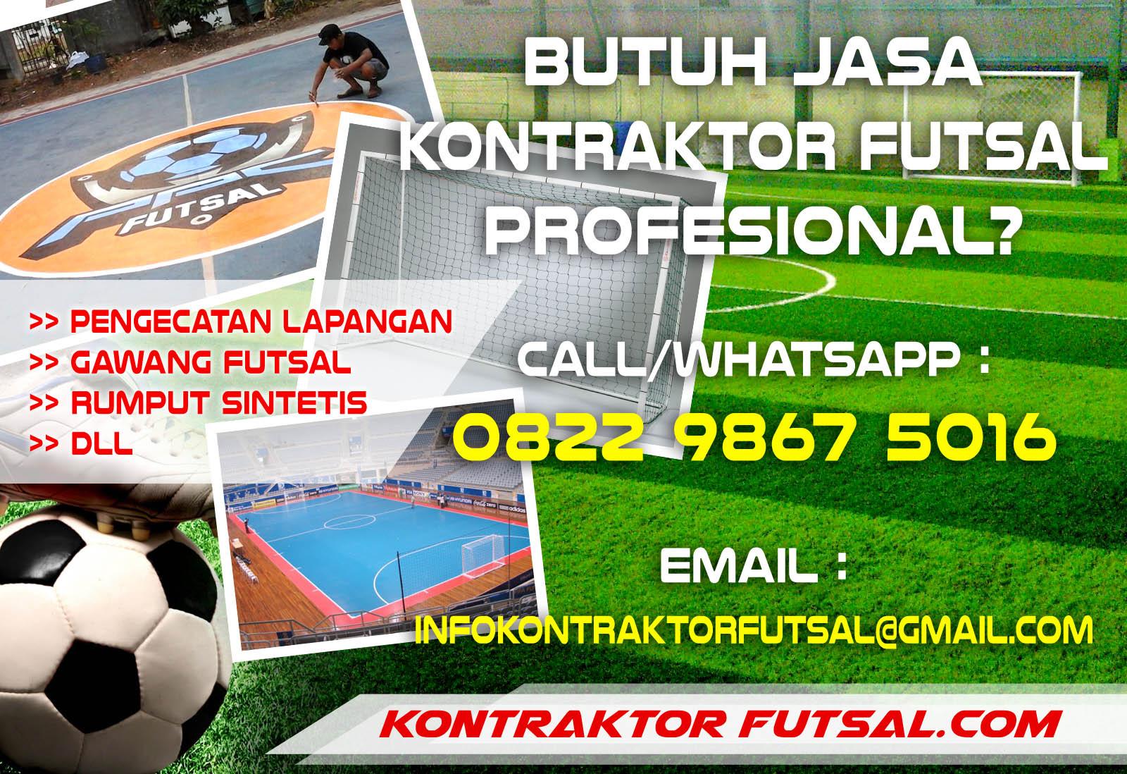 Kontraktor Lapangan Futsal Murah