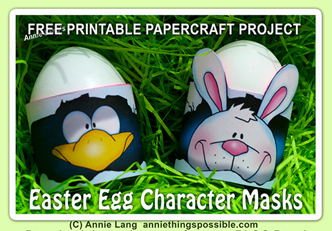 Make Your Easter Eggs FUN with Annie Lang's FREE downloadable!