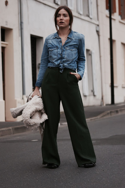 look outfit ootd photo pic style women pantalon blog blogger fashionblogger fashion mode femme like love share
