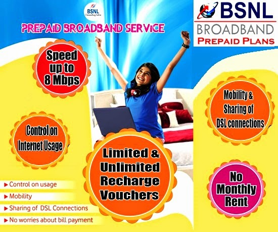 Revision in BSNL Prepaid Broadband Vouchers as the Service Tax Rate increased from 14% to 14.5% due to Swachh Baharat Cess