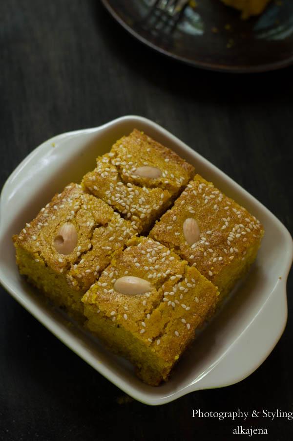 Lebanese Turmeric Cake