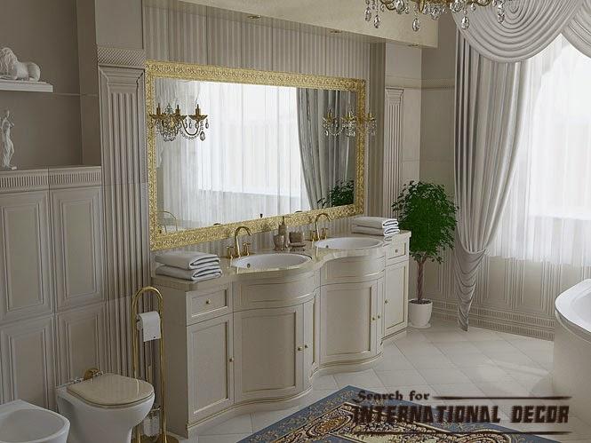 High End Bathroom Furniture. Classic Bathroom Luxury Bathroom