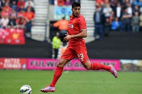 Emre Can trong màu áo của Bayern Munich