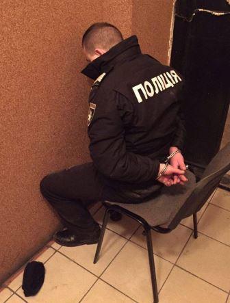 Поліцейський-рекетир