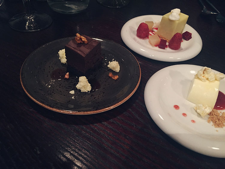 Adelphi Kitchen desserts