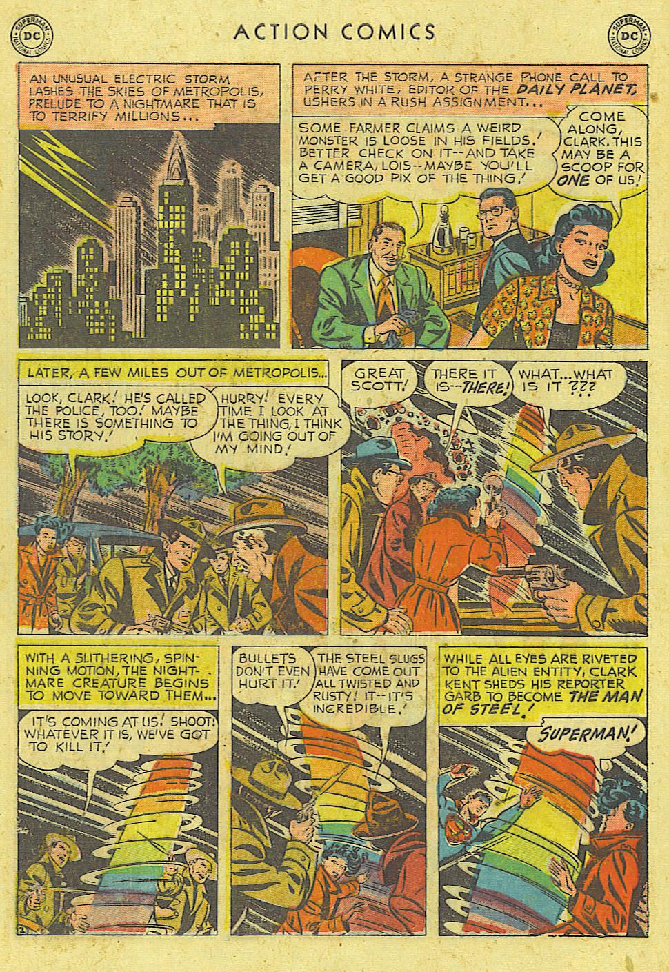 Action Comics (1938) 162 Page 2
