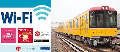 Metrô de Tóquio terá Wi-Fi gratuito para estrangeiros