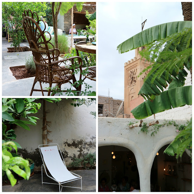 Café, restaurant, boutique déco, à Marrakech