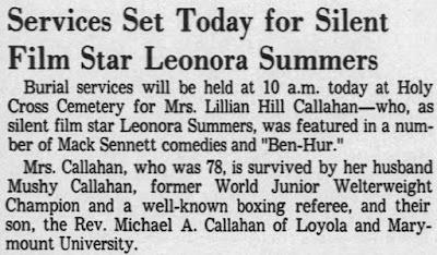 Leonora Summers Obituary