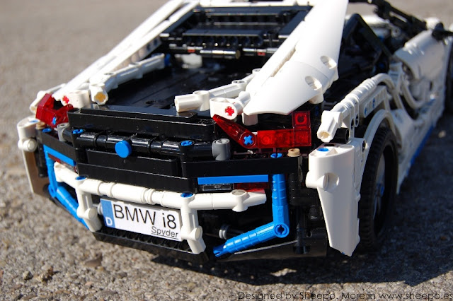 Bmw I8 Spyder Lego Technic And Model Team Eurobricks Forums