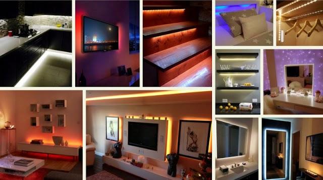Iδέες φωτισμού με Ταινίες LED