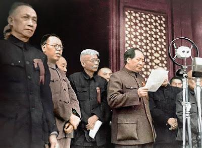 Η ανακήρυξη της Λαϊκής Δημοκρατίας της Κίνας το 1949