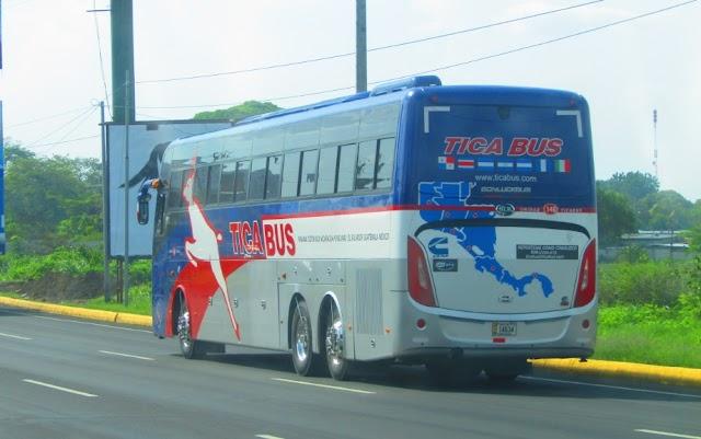 TICABUS MANAGUA HORARIOS Y RUTAS