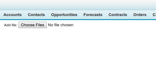 Kevan SFDC: Upload attachment on Salesforce without having