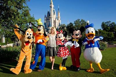 Keajaiban tercipta di Disney World