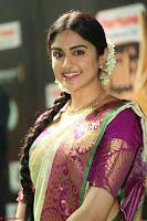 Adah Sharma looks super cute in Saree at IIFA Utsavam Awards 003.JPG