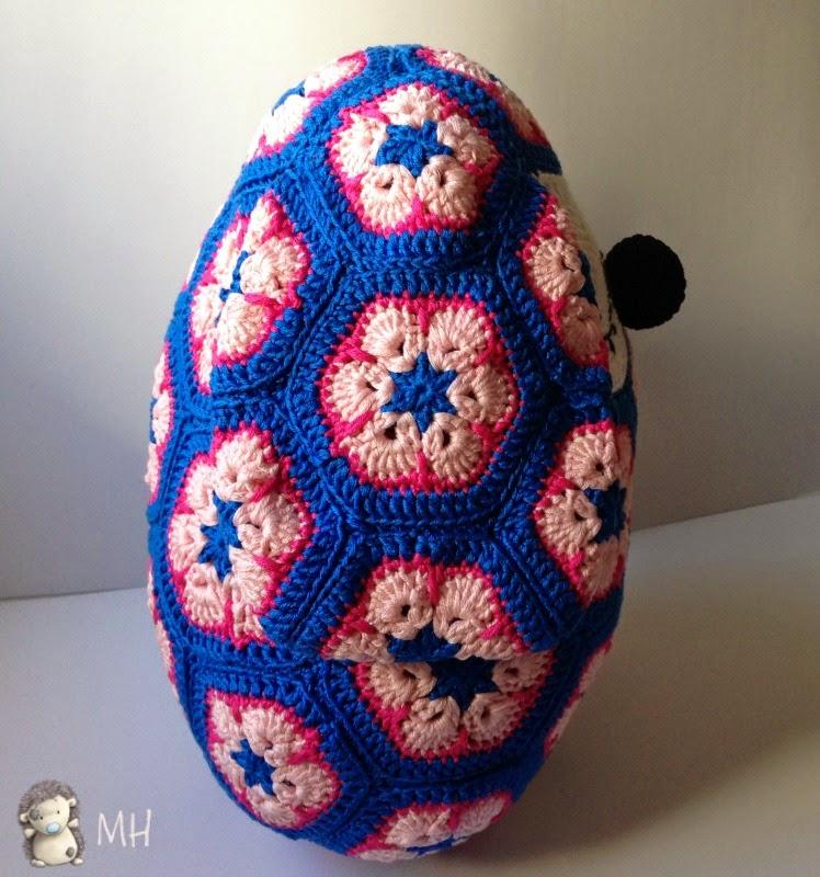 perrito a crochet