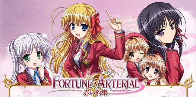 Fortune Arterial: Akai Yakusoku BD Sub Indo : Episode 1-12 END | Anime Loker