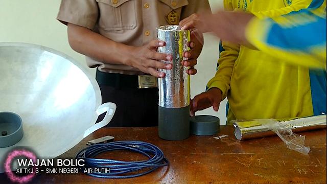 Cara Membuat Antena Wajan Bolic Sederhana Untuk Menangkap Sinyal Wifi 45