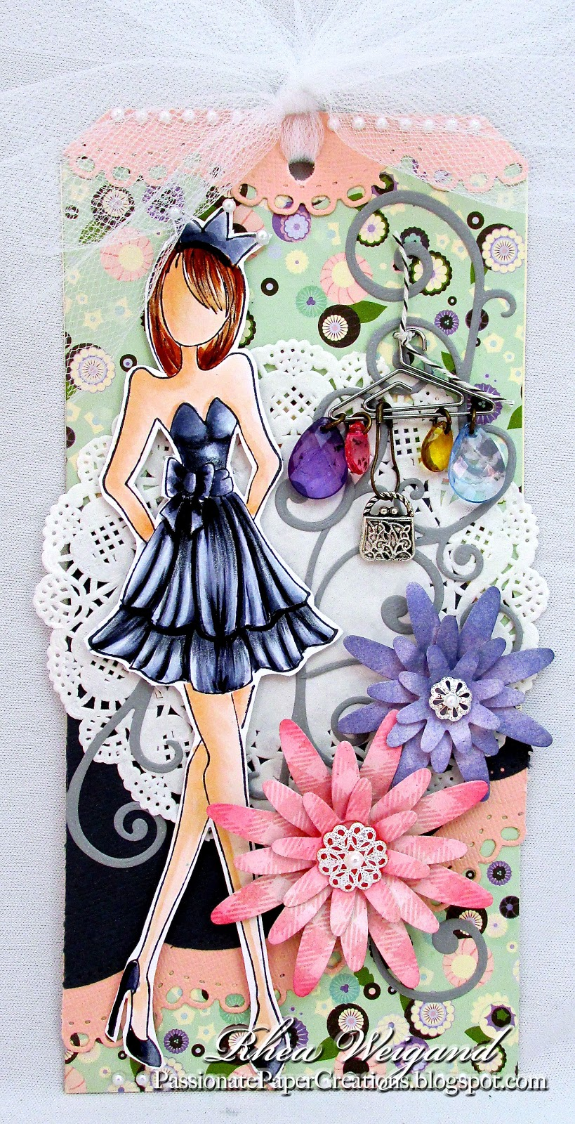 Prima Mixed Media Doll Stamps | Passionate Paper Creations