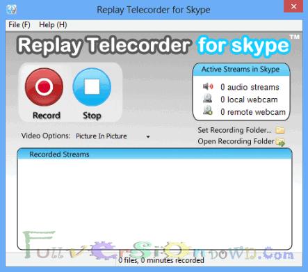 Applian Replay Telecorder for Skype 2.4 Full Crack