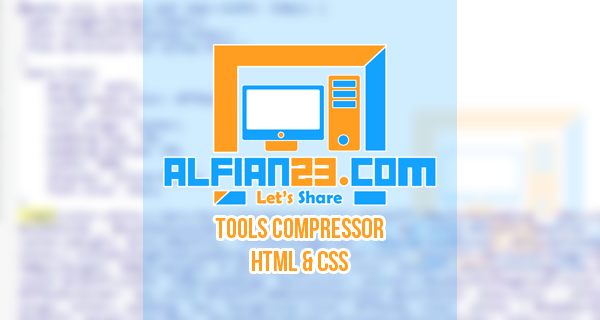 Tools Compressor HTML And CSS