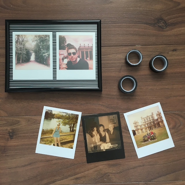 Sweet allure Interiors: DIY Washy Tape Photo Frames. polaroids