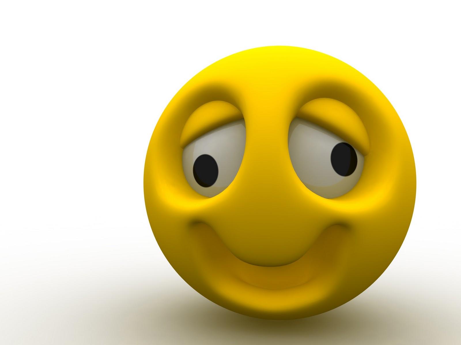 3d Dual Screen Wallpaper Wallpaperfreeks Hd Smile Emoticons Wallpapers