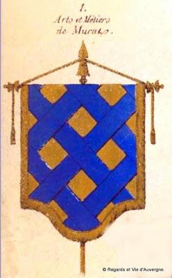 Bannière des Arts et Métiers d'Auvergne Murat