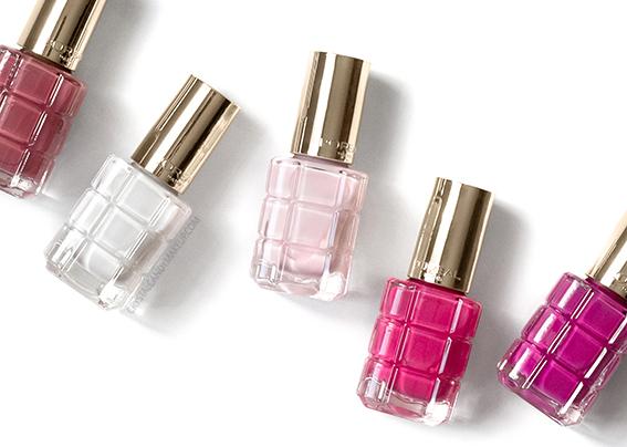 L'Oreal Le Vernis Huile Colour Riche Review Photos 224 112 220 226 330