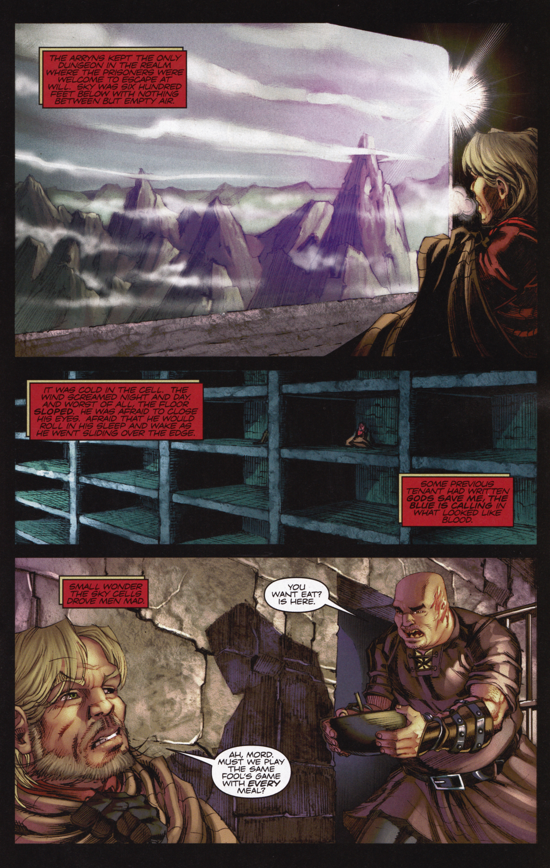 Read online A Game Of Thrones comic -  Issue #12 - 17