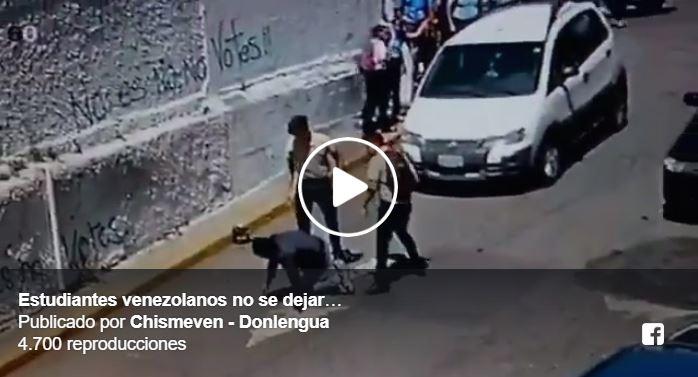 Estudiantes golpearon a dos delincuentes que los intentaron atracar