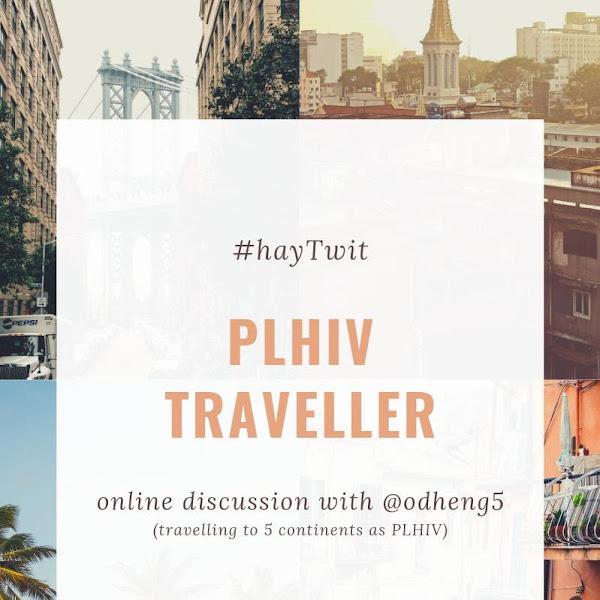 Ngobrol HIV/AIDS : PLHIV Traveller Bareng @hayVee dan @odheng5