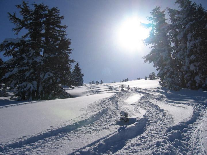 kar manzaralı resimler